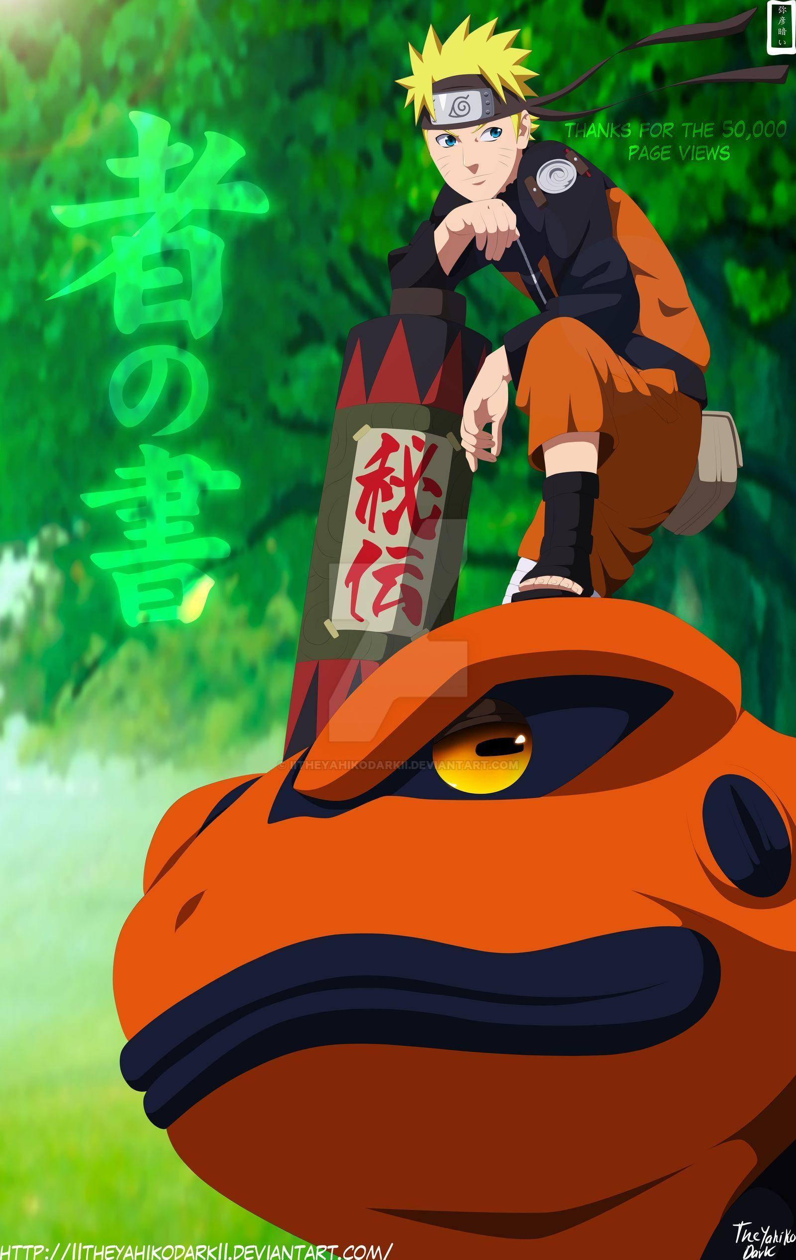 Naruto Thought Time by IITheYahikoDarkII on DeviantArt