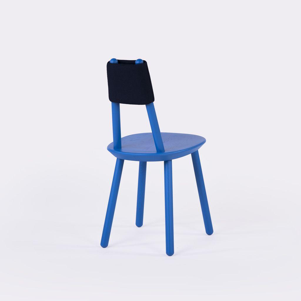 Holzstuhl NAIVE in blau | Frühlingsideen für Wohnzimmer | Pinterest ...