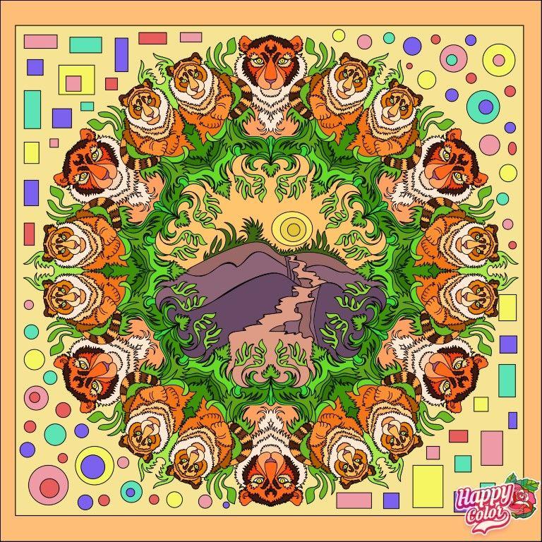 Pin By Elena Rodriguez Bonilla On Animals Happy Colors Coloring Books Kinder Art
