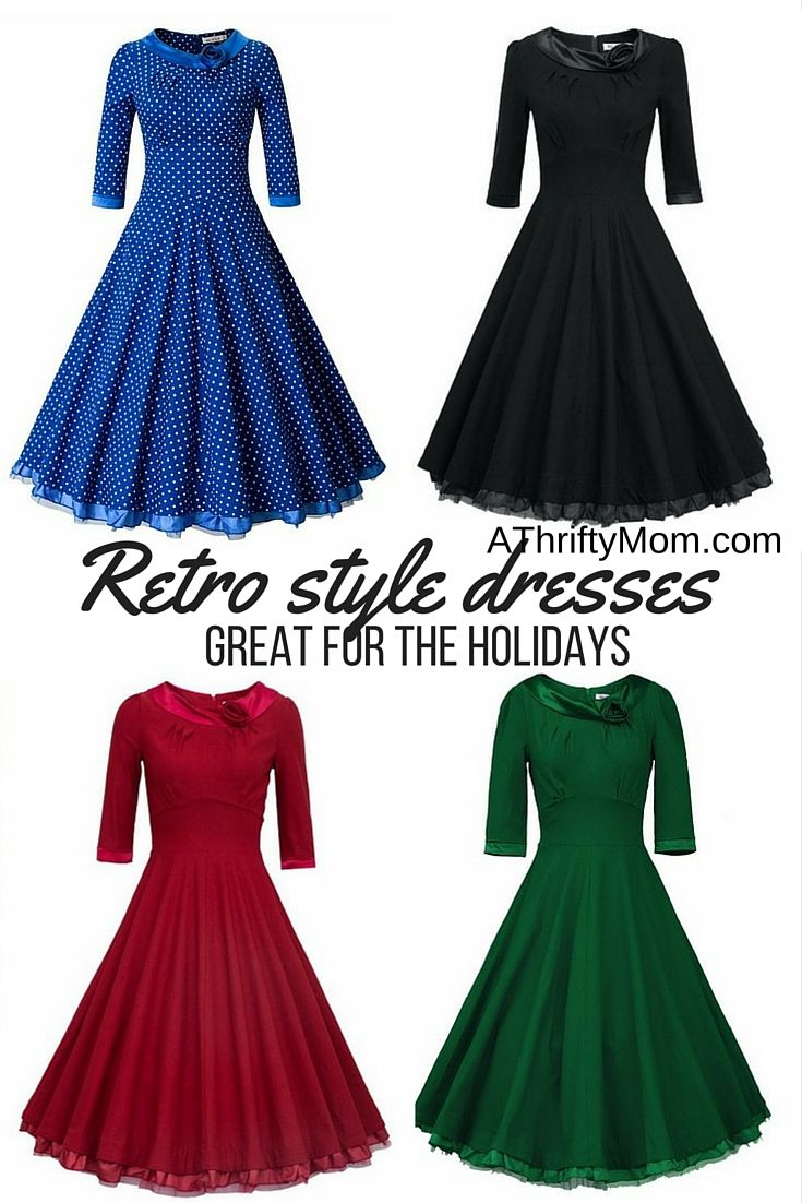 415334a22f Retro style dresses