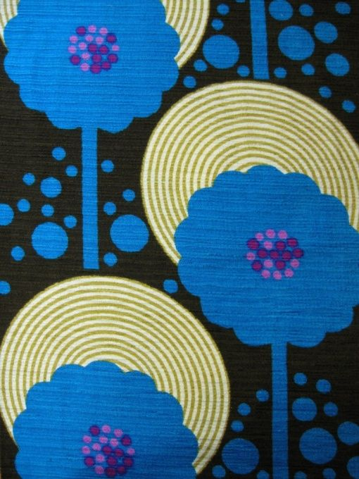 70er Stoff | Vintage fabric | Curtains, Fabric & Carpets | Johnny-Tapete