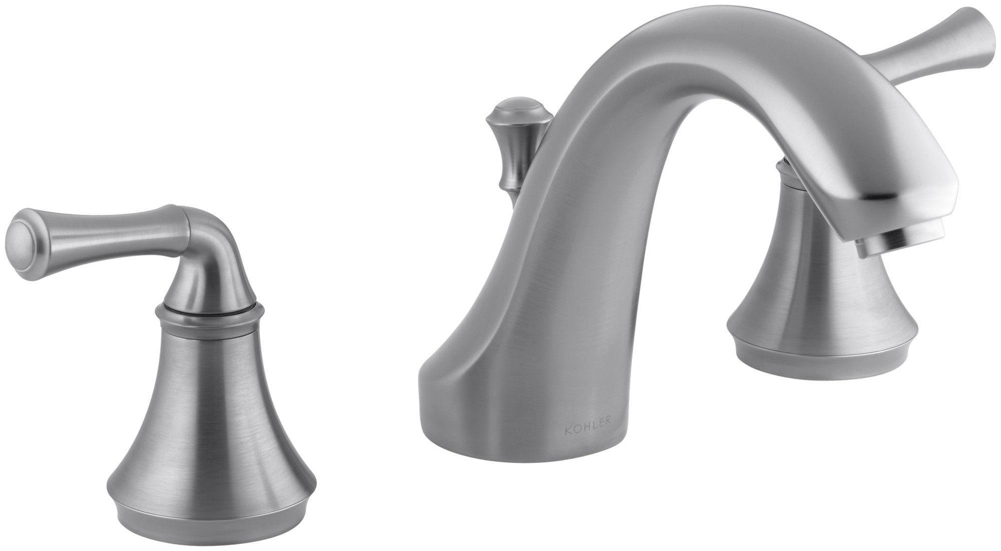 Forté Traditional Deck-Mount Bath Faucet Trim for High-Flow Valve ...