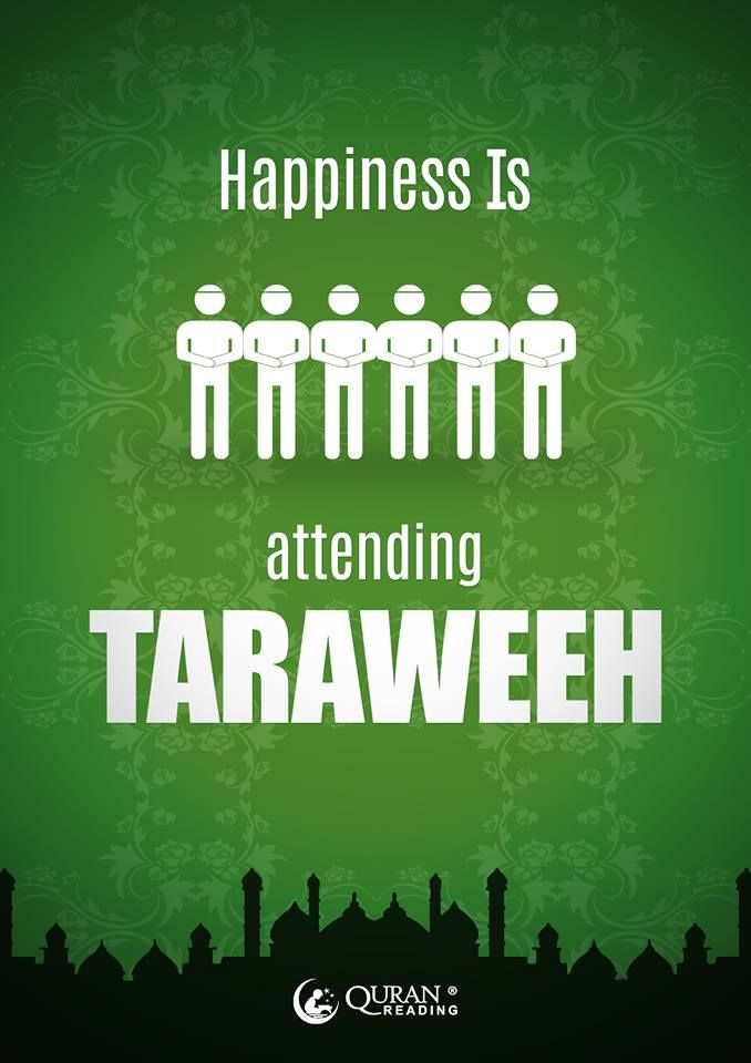 what is the meaning of taraweeh