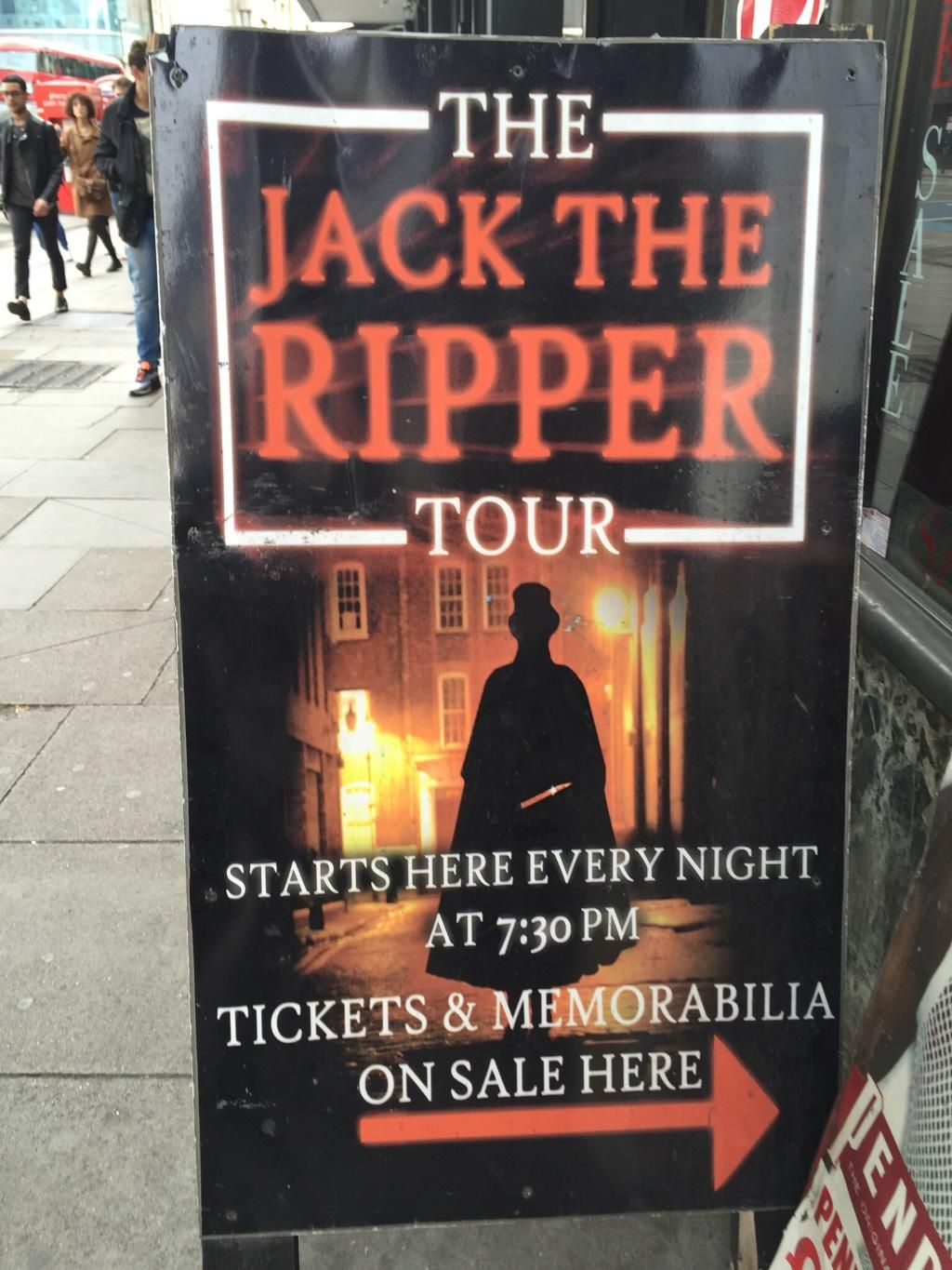 The Jack The Ripper Tour With Ripper Vision Visit London London Tours London Vacation