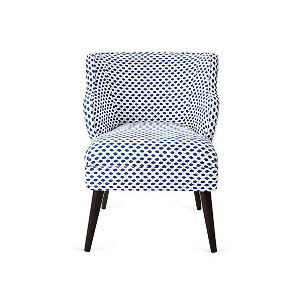 kira chair navy dot accent occasional chairs 445 liked on rh pinterest com
