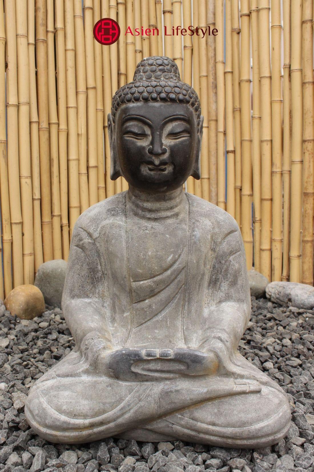 Garten Buddha Meditations Figur Aus Naturstein Buddha Figur Buddha Buddha Statuen