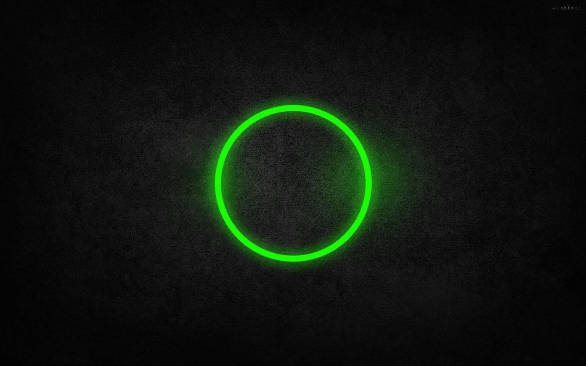 Green Circle Wallpaper No 154906 Dark Black Wallpaper Black Wallpaper Neon Wallpaper