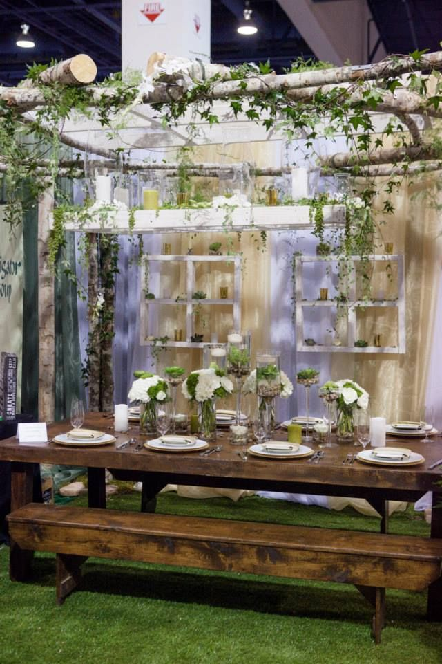 pin andria event booth ideas