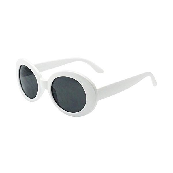 f5584a3e25efbc Clout Goggles New MOD Round Costume Sunglasses (White)  Amazon.ca ... ( 13)  ❤ liked on Polyvore featuring accessories