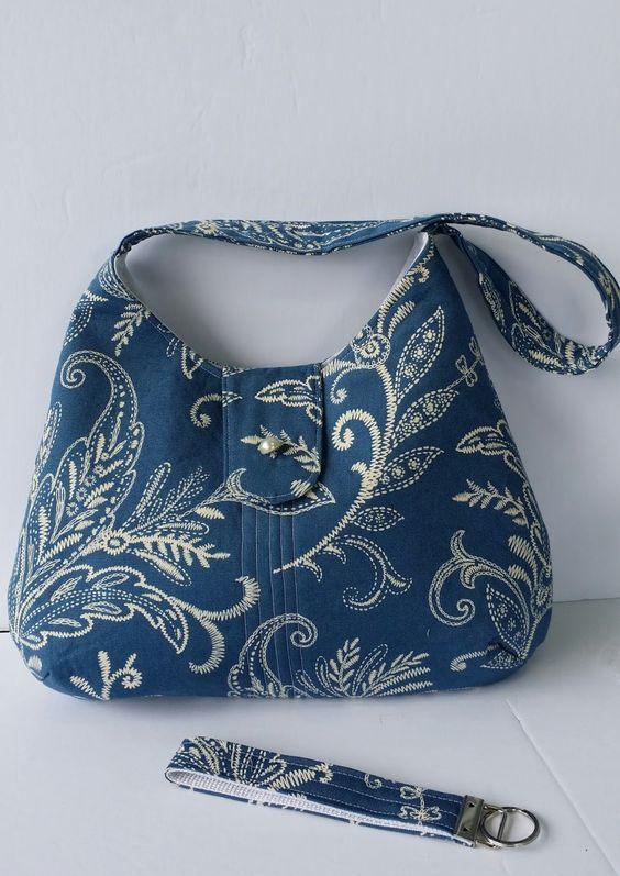 Novice Beginnings Free Phobe Bag Tutorial Sewing Pinterest