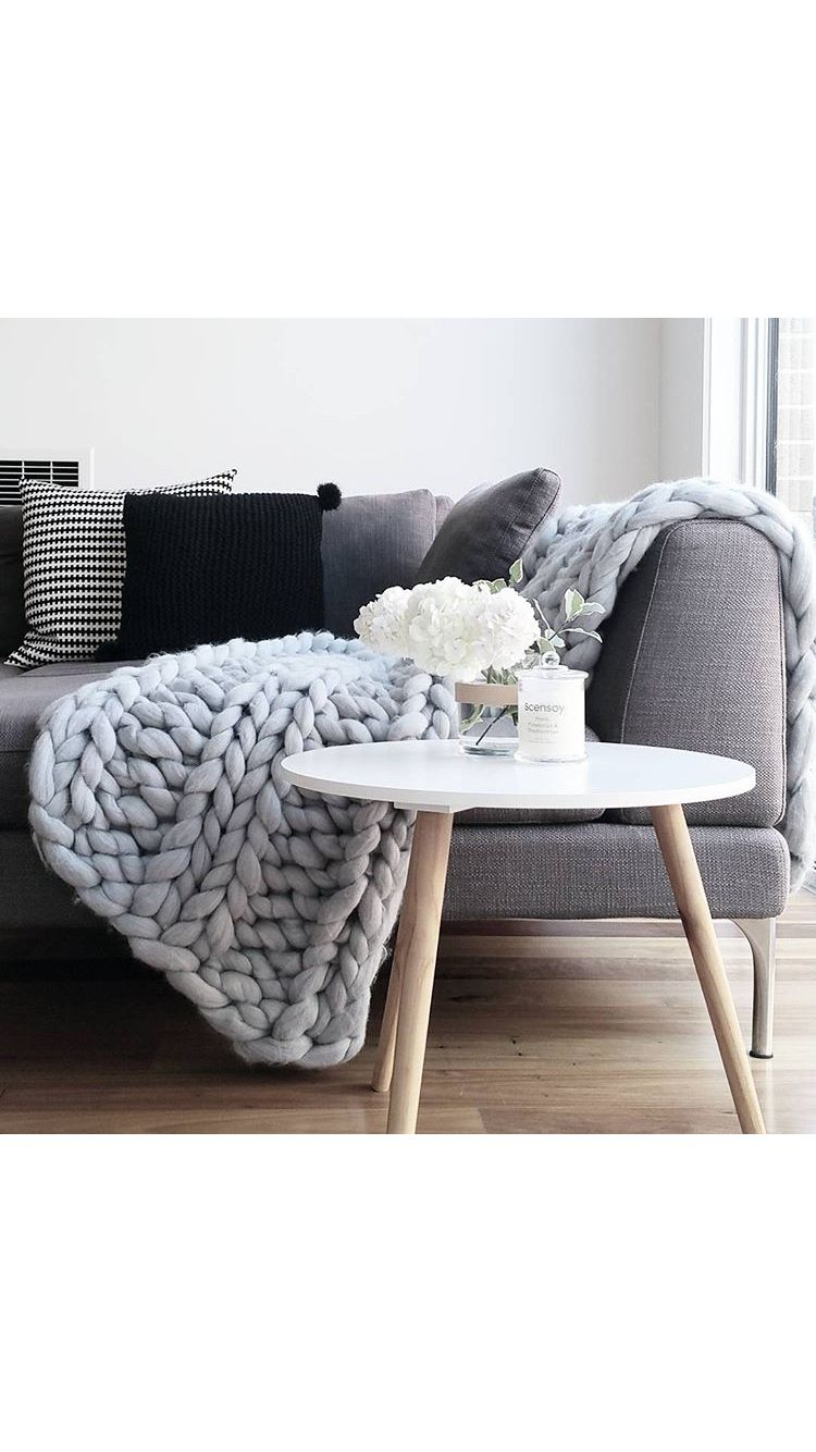 Lounge Throw Relaxing Candles Lounge Room Scandi Warm Greys White