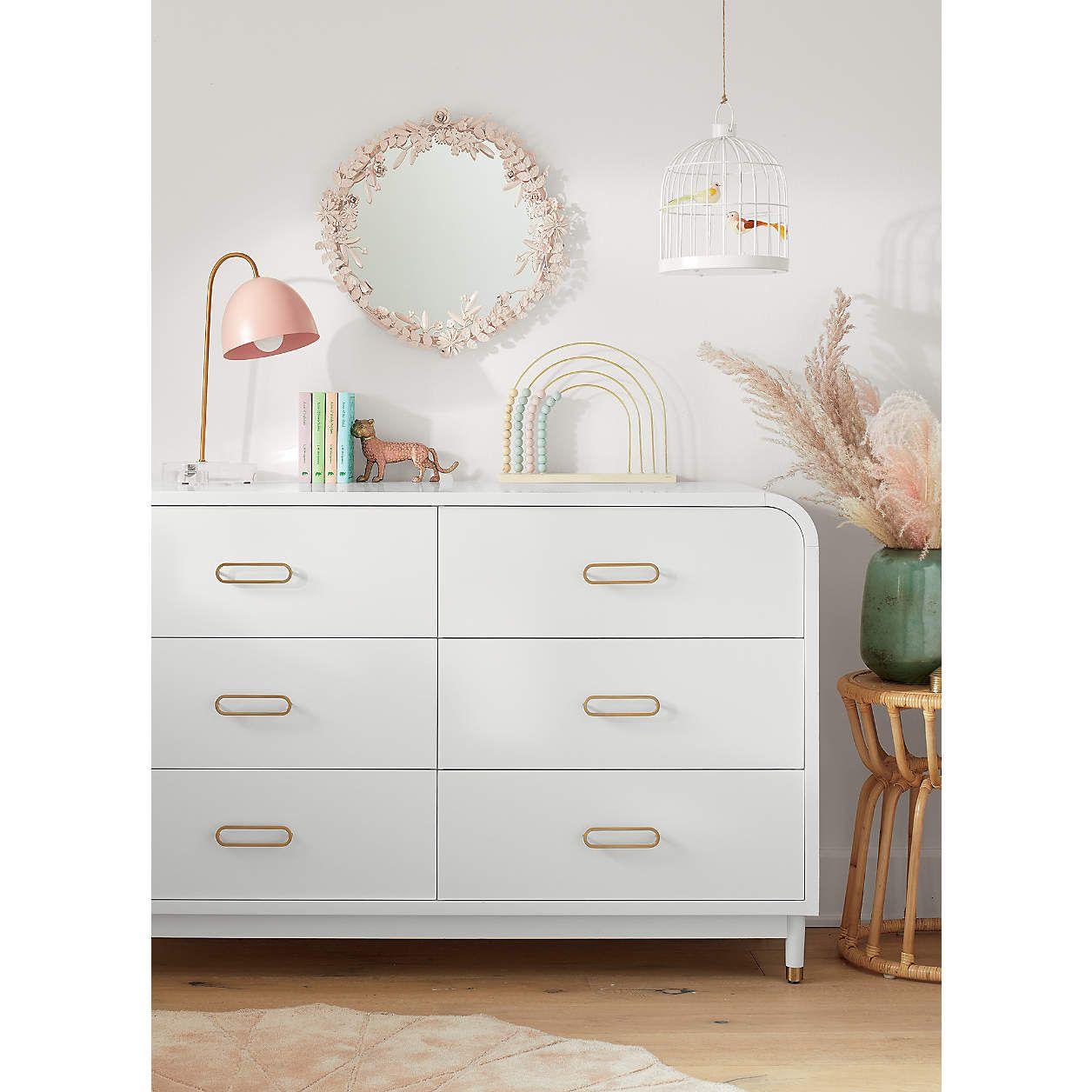 Kids Arlo Wide White And Gold Dresser Reviews Crate And Barrel In 2021 White And Gold Dresser Gold Dresser Kids Furniture Dresser [ 1256 x 1256 Pixel ]