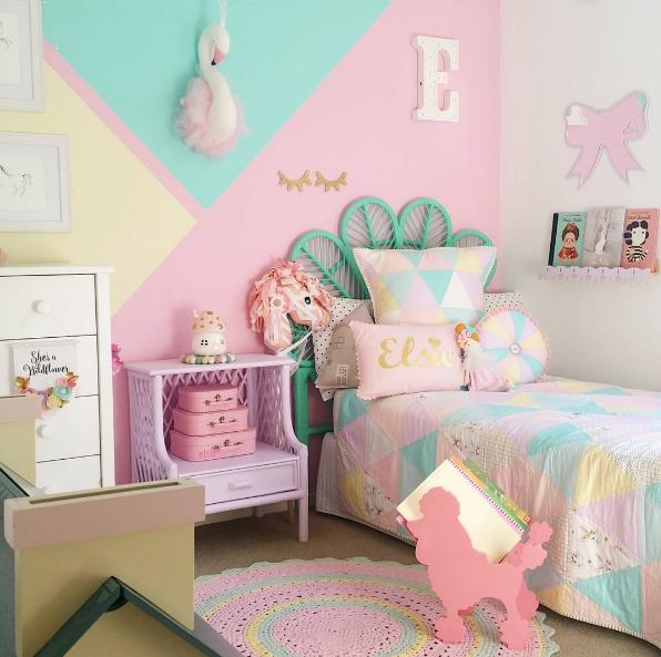 Instagram Decoracion De Paredes Dormitorio Muebles De Dormitorio De Ninas Decorar Pared Habitacion