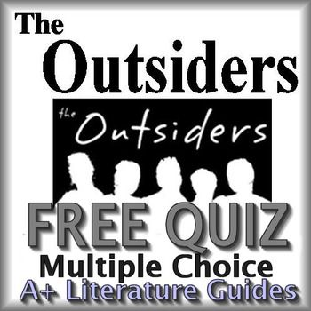 The Outsiders Quiz Chapters 1 3 FREE Educational Finds