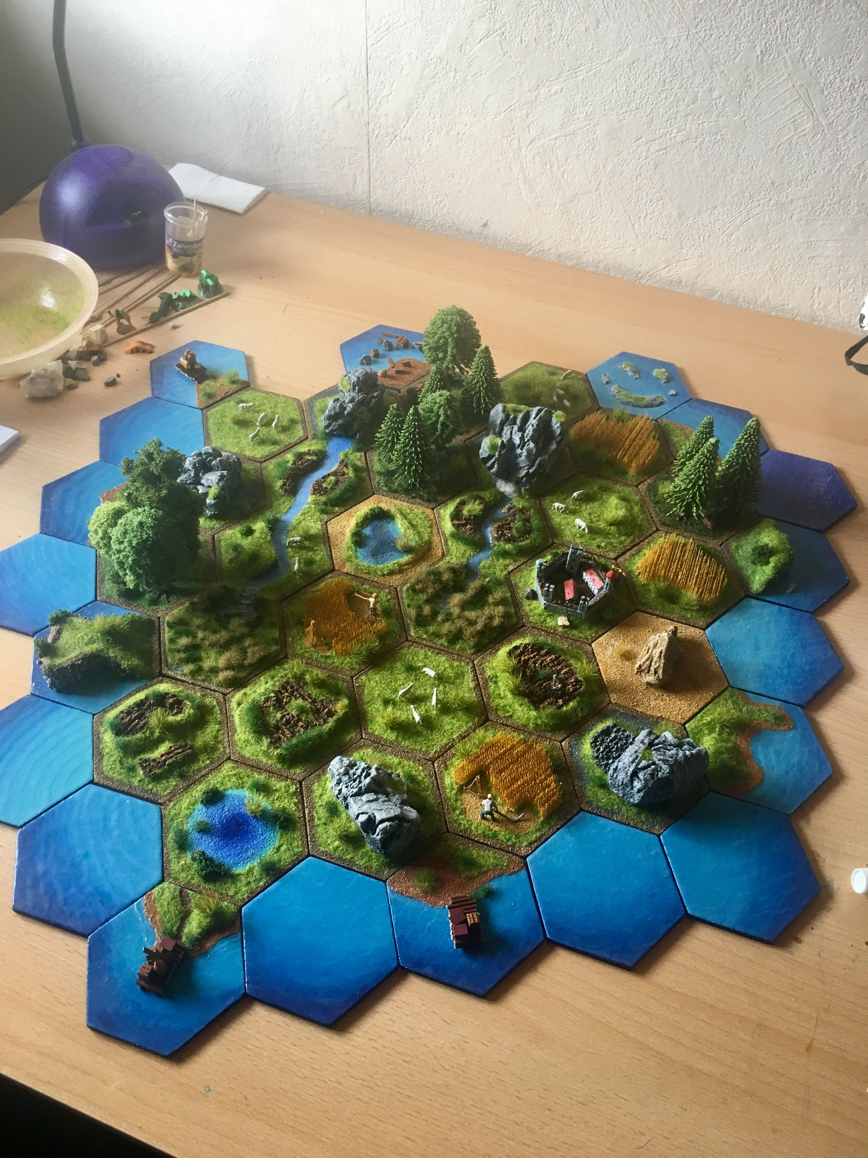Settlers of catan image by L L on Catan DIY Catan board
