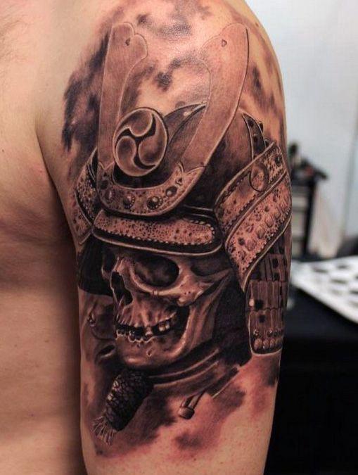 The Ultimate 145 Best Skull Tattoos In 2020 Samurai Tattoo Design Warrior Tattoos Japanese Tattoos For Men