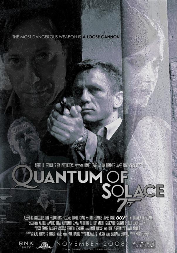 News James Bond Quantum Of Solace Filmes Poster E Cartaz