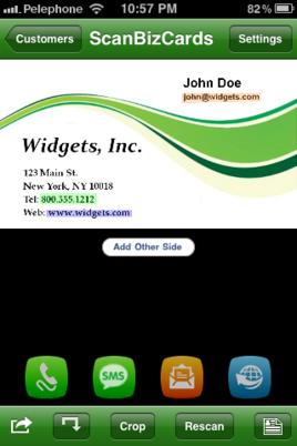 Scanbizcards Business Card Scanner App Abl Links