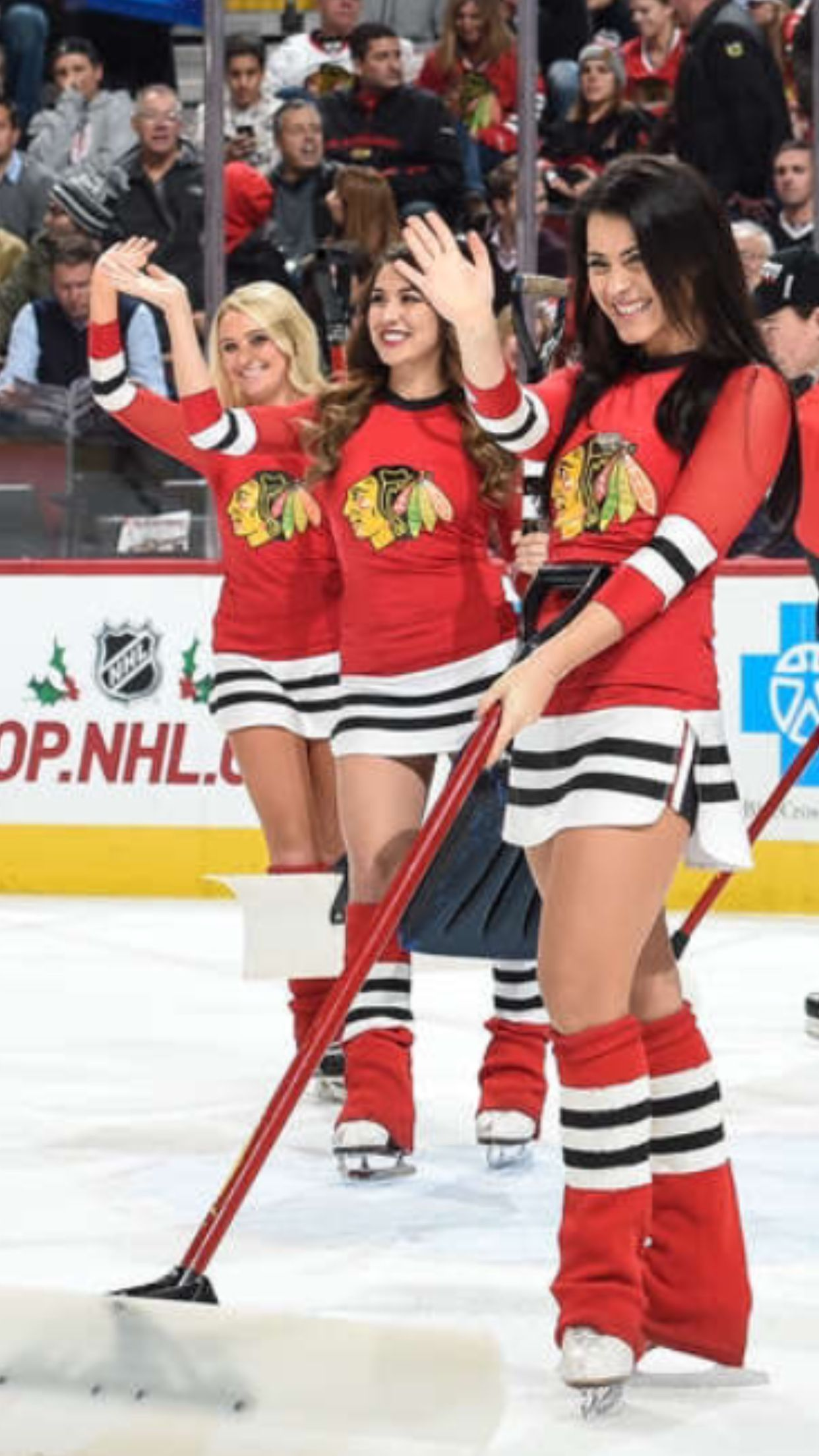 It S A Shame We Have The Hottest Ice Crew Hockey Girls Ice Hockey Girls Ice Girls