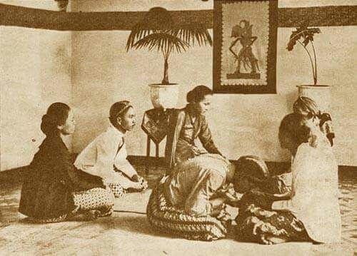 Sungkeman Jawa 1925 Kertas Dinding Indonesia Lebaran