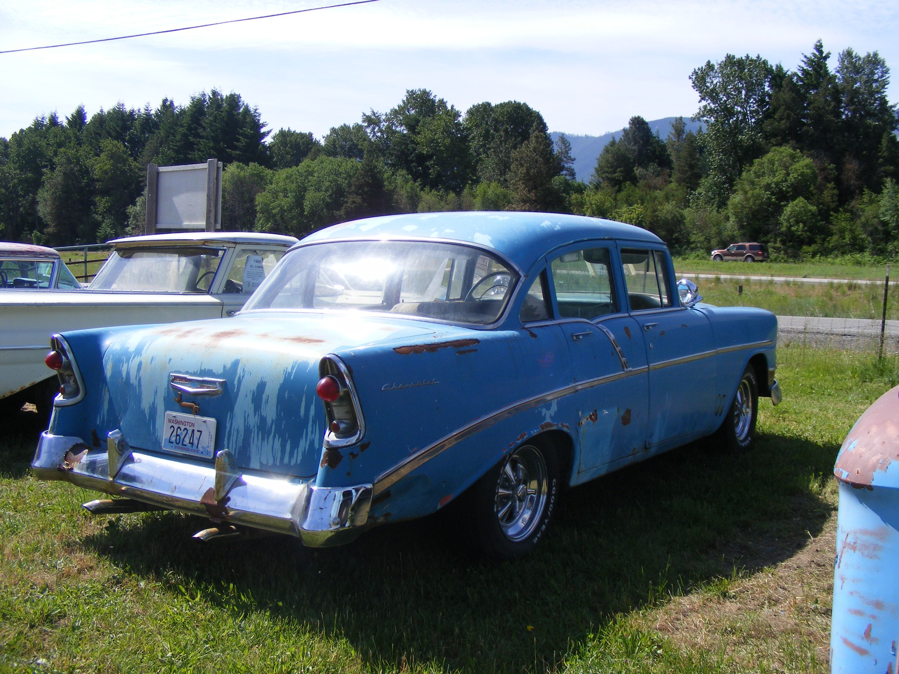 For Sale old classic car @ Easton/CleElum WA I90 47°12.2378\'N 121 ...