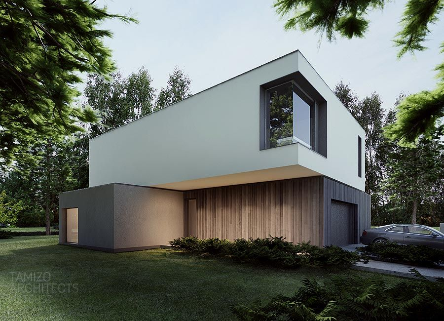 M house warsaw tamizo architects architektur grafik for Architektur grafik