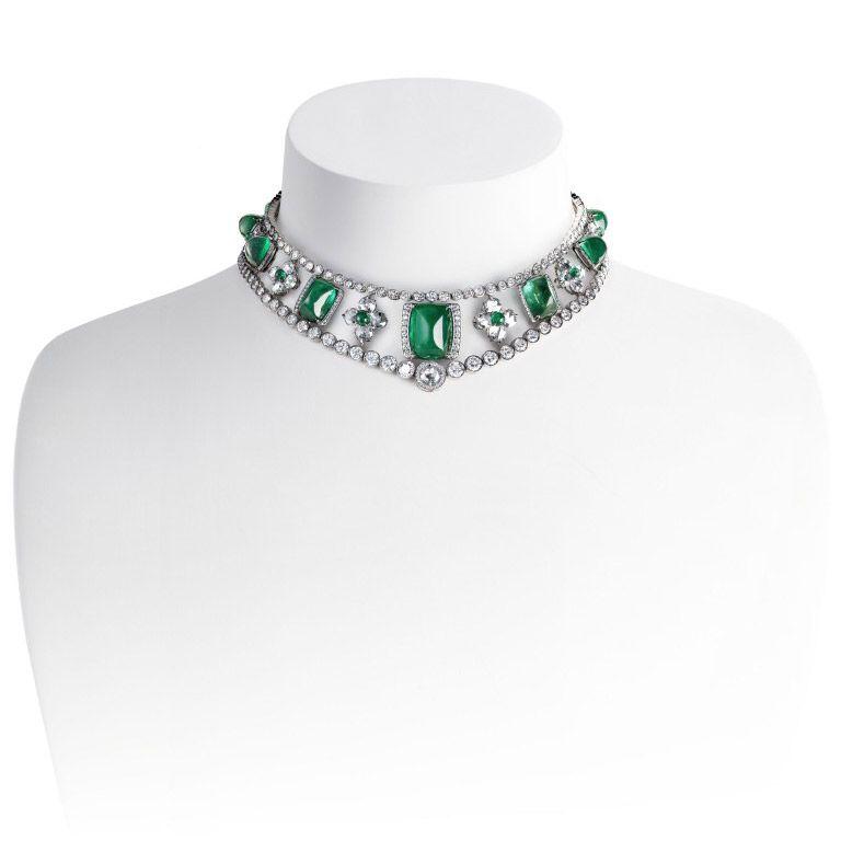 (Nouveau) Fabergé - Le Collier Romanov - 1ère Partie (voir son histoire dans le tableau Esquisses et Croquis)