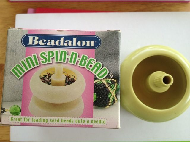 *Spin-n-Bead Mini - easily string seed beads!. Starting at $5 on Tophatter.com!