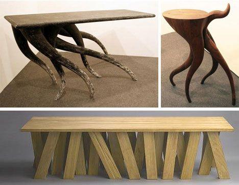 16 Creative Tables With Potential Identity Crises Weburbanist Ungewohnliche Mobel Moderner Tisch Tischdesign