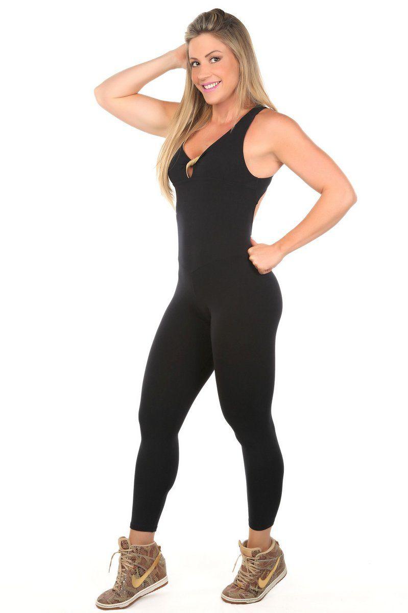 8e7dadd65 Dani Banani Moda Fitness - macacao-tiras-preto-com-dourado produto 3096  macacao