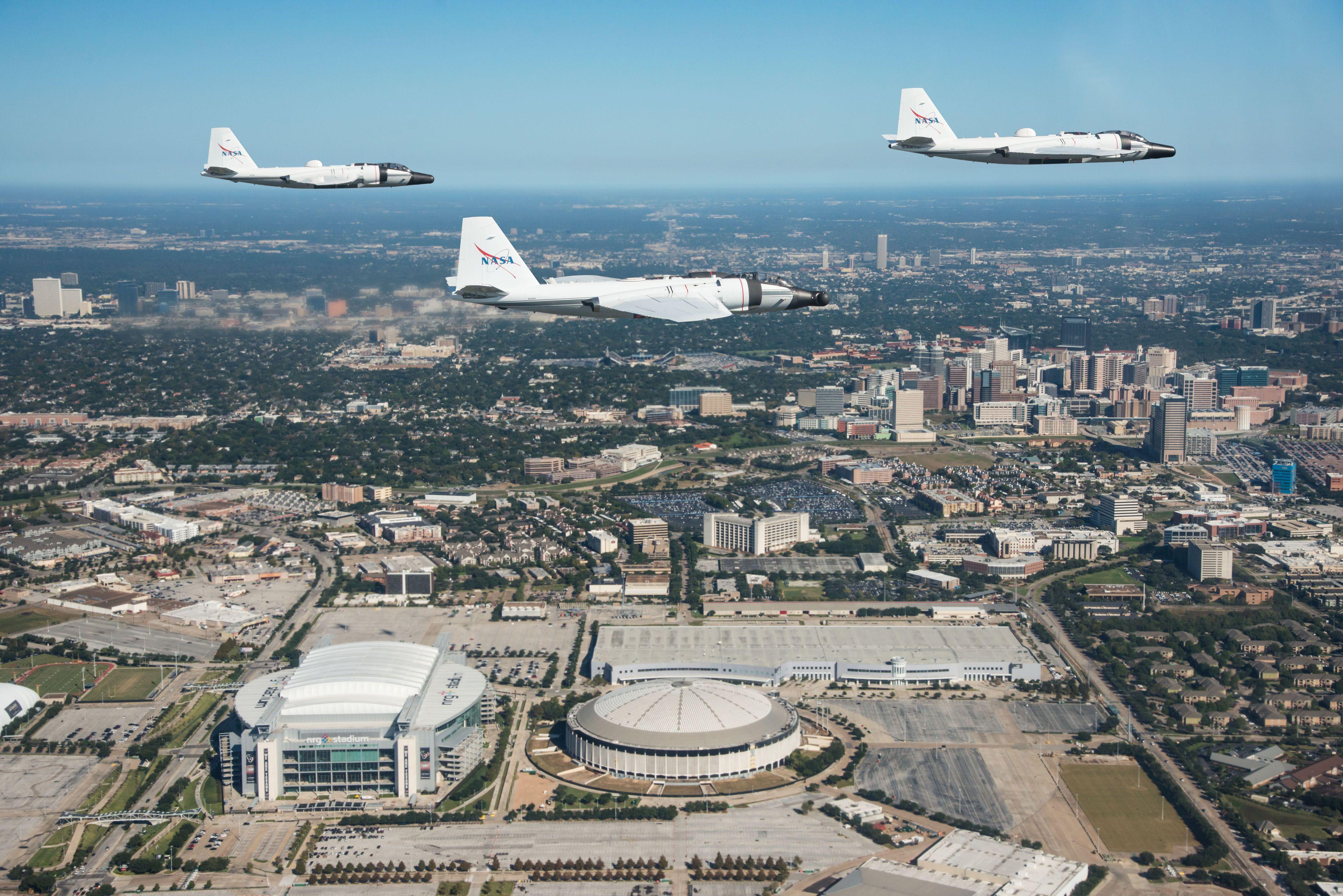 WB57 still flying in 2017. Refit Bomber Aircraft Will