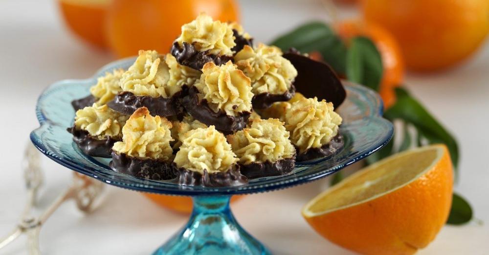 Recept: Glutenfria mandelkakor med choklad #sundtslik