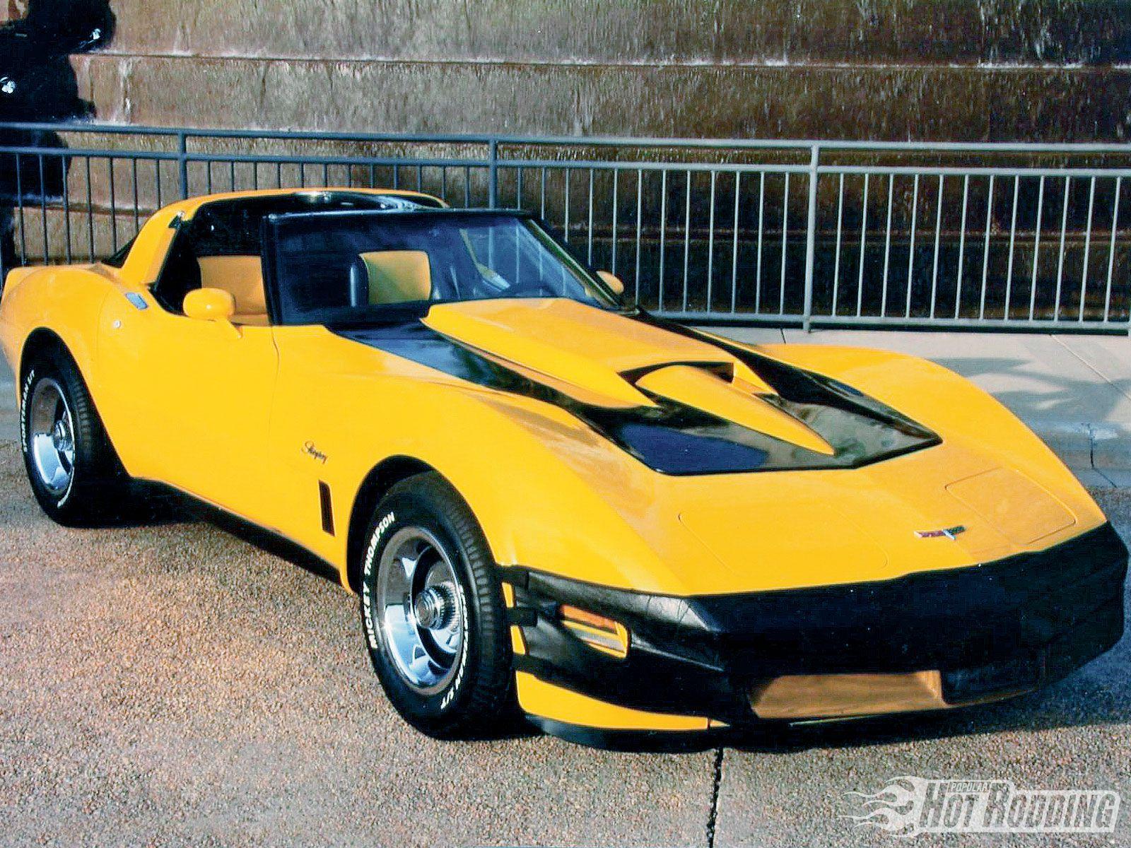 1980 Chevy Corvette Convertible. Maintenance/restoration of old ...