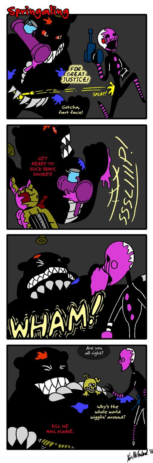 Previous: Next: I Apologize Profusely For Leading You To Expect Nightmare  To Sit On Springtrap, Then Showing Springtrap Disappointingly Upright How  About