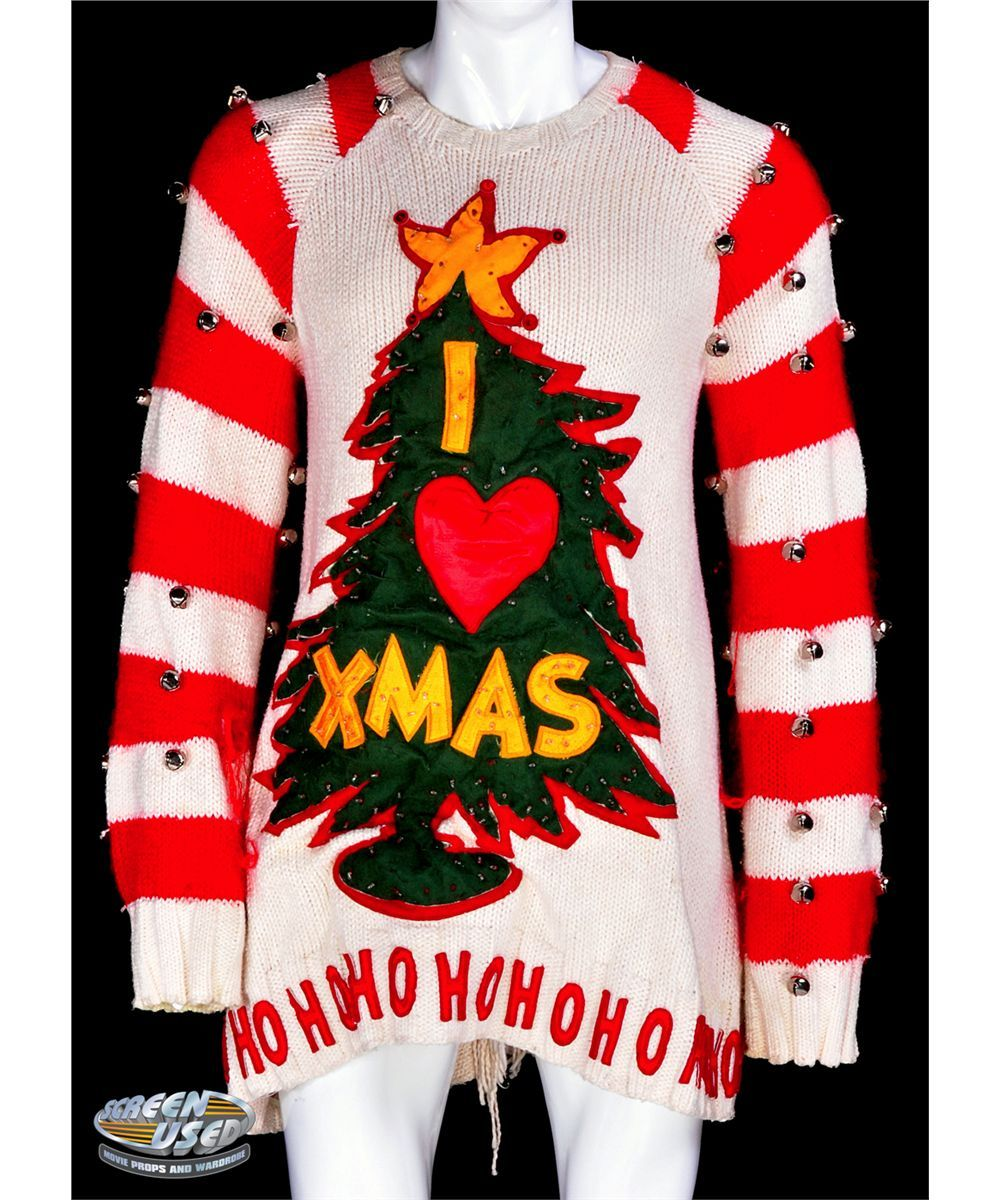 Jim Carrey The Grinch Whobilation Sweater From How The Grinch