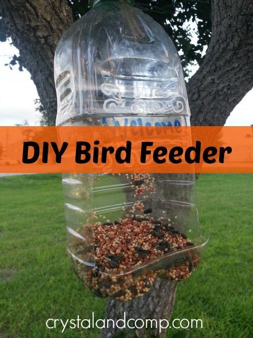 Summer activities for kids diy bird feeder diy bird for Making a bird feeder out of recycled materials