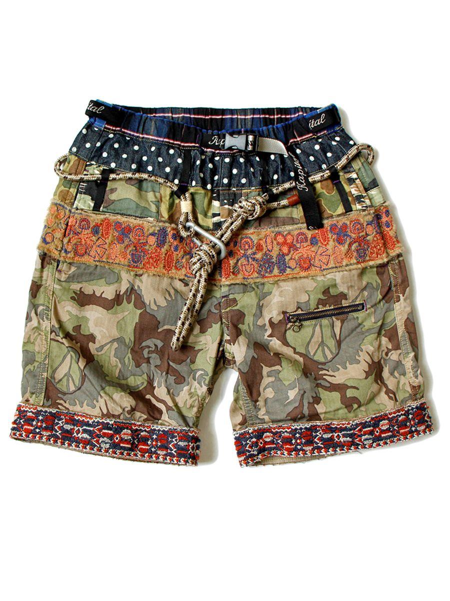 4c42e0cb707 WEB SHOP - KAPITAL チノショーツ, ショートパンツ水着, 日本のファッション, メンズ
