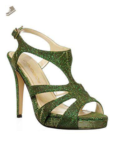 166356689625b Caparros Ireland Dress Sandal Green Glimmer Women's 8.5 M Us ...