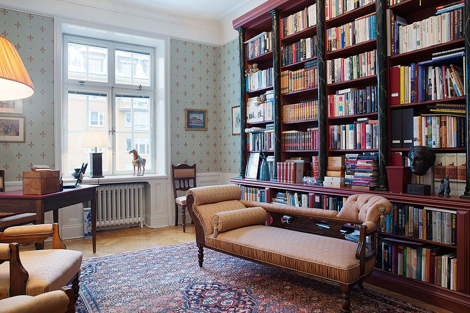 30 Classic Home Library Design Ideas Imposing Style Home Library Design Home Libraries Small Home Libraries