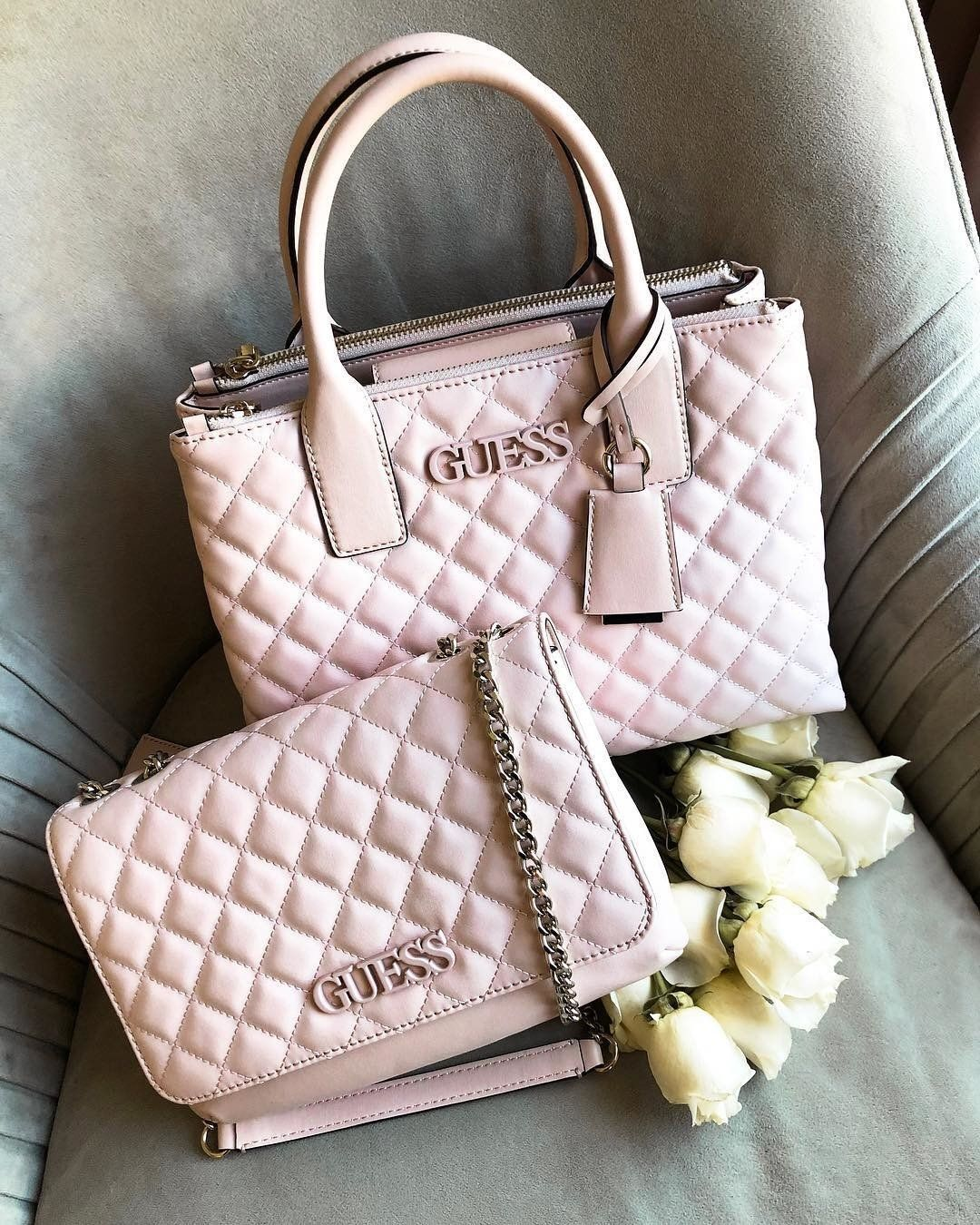 64a0696032cb1b GUESS Elliana Quilted Convertible Crossbody + Quilted Status Satchel | PC: @ guess