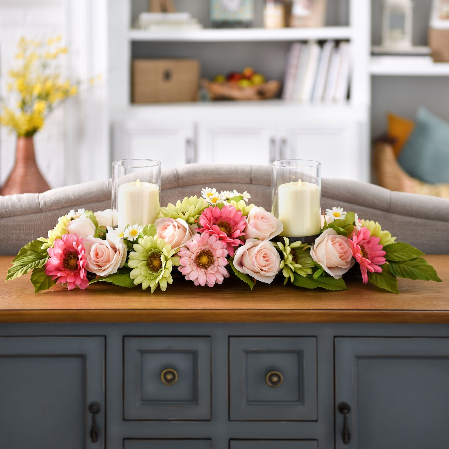 Bring the beauty of flowers to your kitchen table for