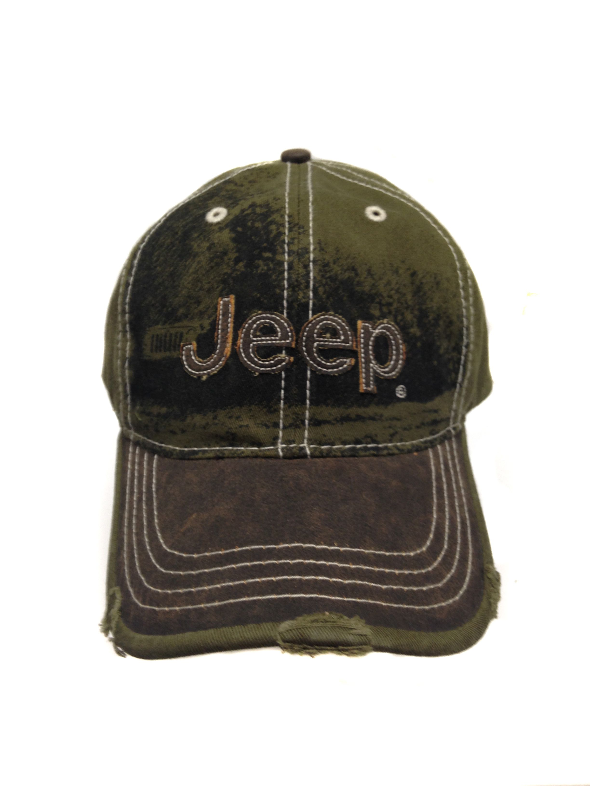 Olive Jeep Twill Cap