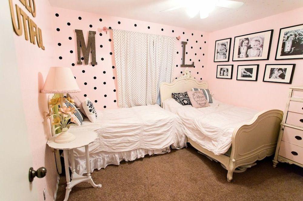 Pink Little Girls Bedroom