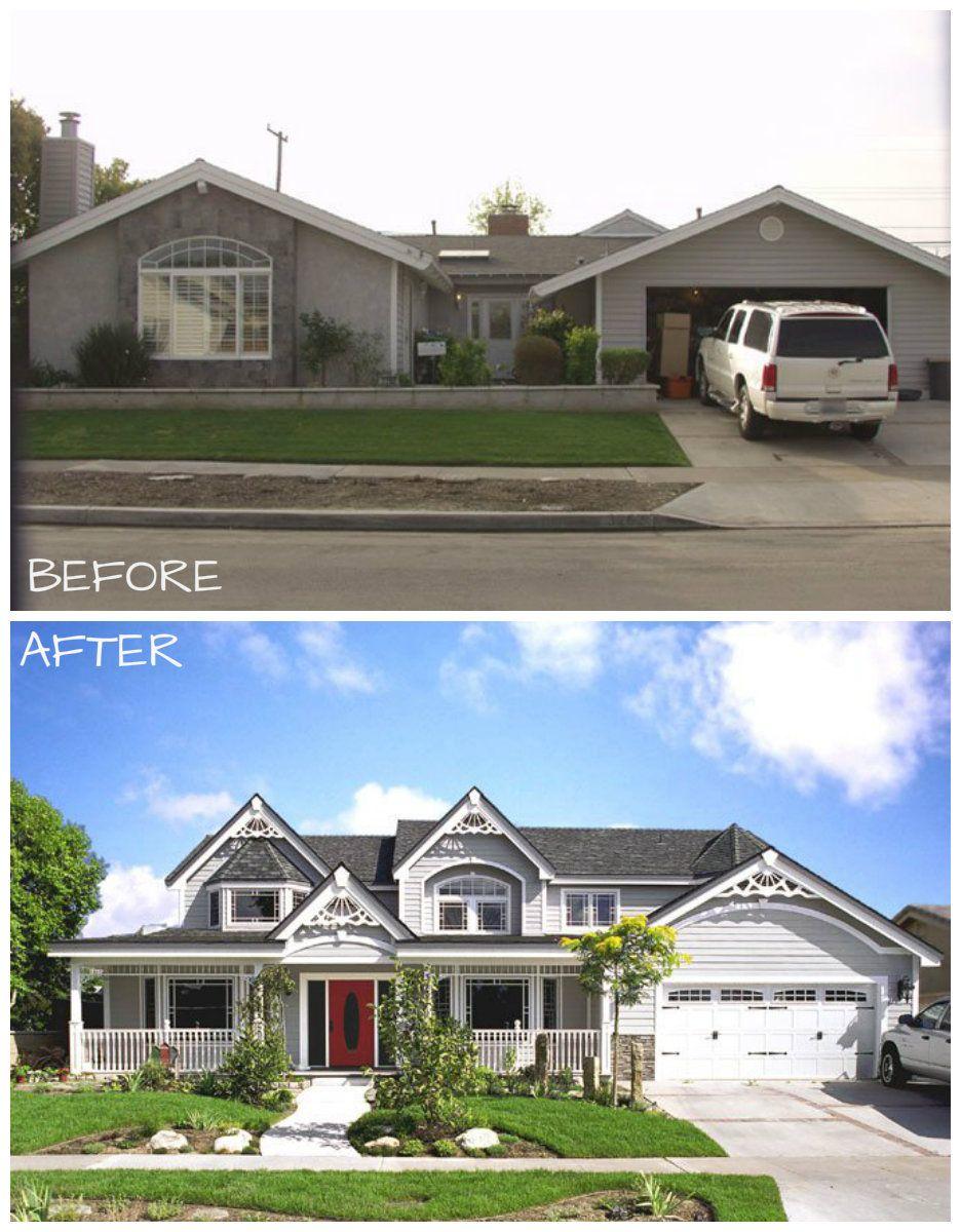 Exterior Before & After Long Beach