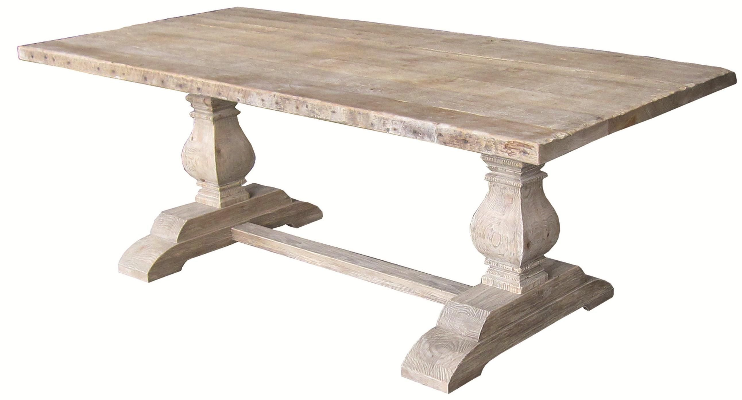 Hughes Dining Table By Four Hands Trestle Dining Tables Double