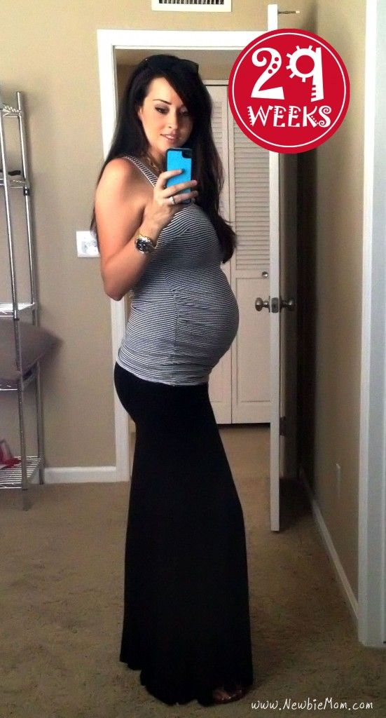 79b118d1c7f71 29 Weeks Pregnant Update and Photo » Newbie Mom #pregnancy ...
