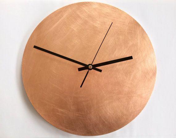 Wanduhr Badezimmer ~ Copper raw wall clock wanduhren zeiger und sei einzigartig