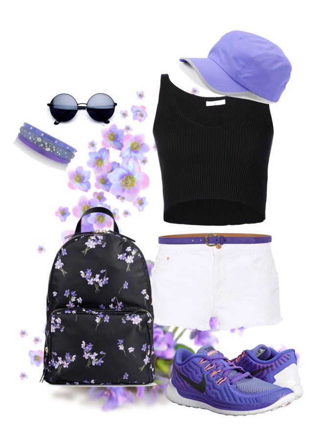"""""""Untitled #763"""" by theserialnester ❤ liked on Polyvore featuring 321, STELLA McCARTNEY, Alexis Bittar, RED Valentino, Ralph Lauren, NIKE and Tek Gear"""