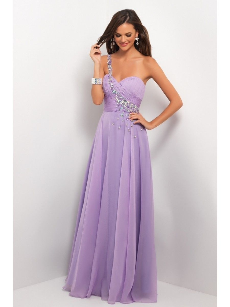 Wedding Lilac Prom Dresses prom dresses sheath column one shoulder floor length lilac chiffon evening formal 99901064