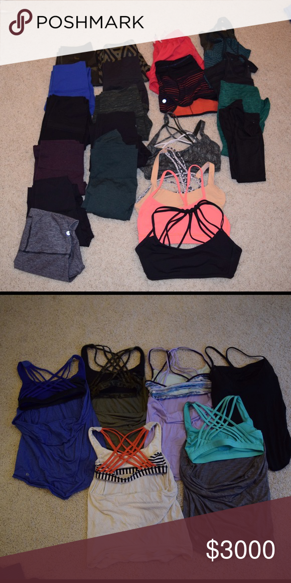"Future Lululemon Sales Soon I will be selling all of this stuff. I sell stuff cheaper on merci: type in the search ""Lululemon future sellers"" and the picture of all my Lululemon stuff will pop up and that's my profile lululemon athletica Other"
